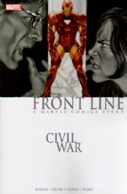 Civil War Frontline Trade Paperback TPB 02